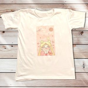 New Cute Sailormoon Graphic T-shirt